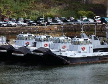 Studec authors logistics documentation and training for the tugboats of the French navy